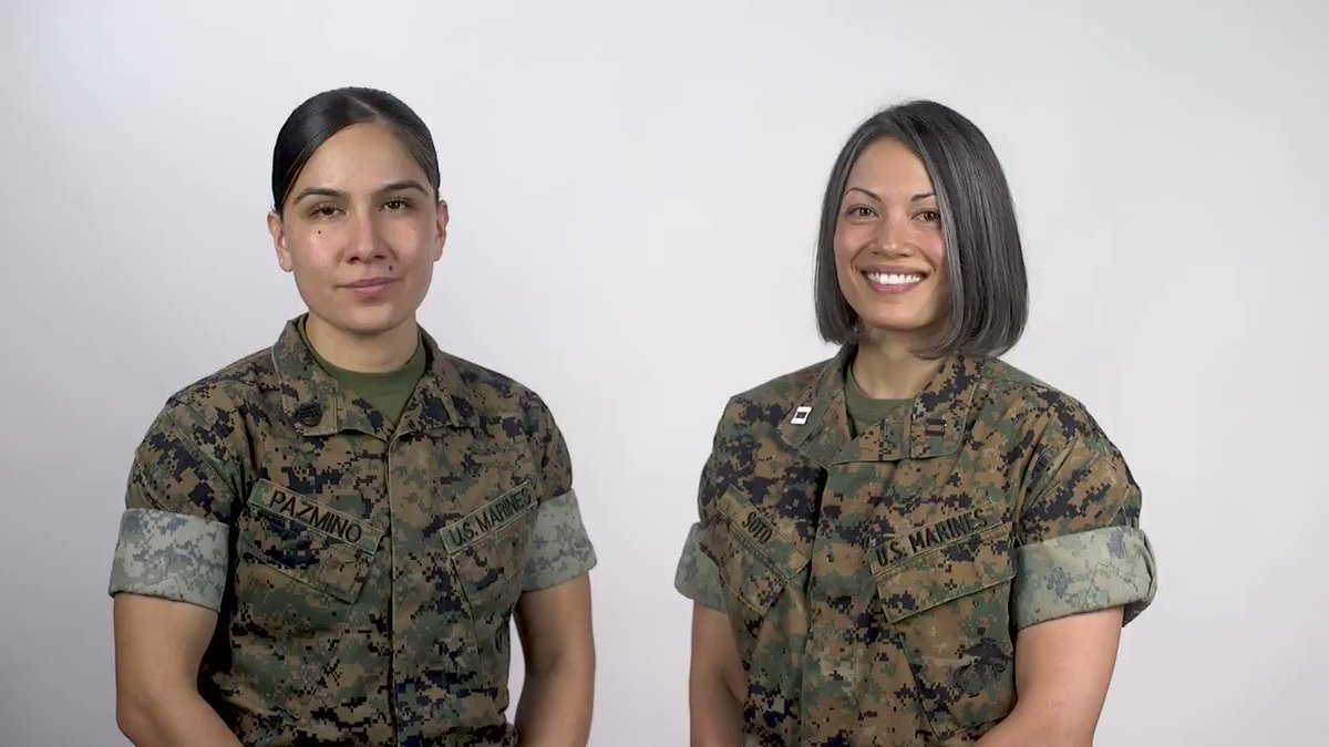 See the video for details about the Marine Corps body composition study: https://t.co/qaACsvdHiV