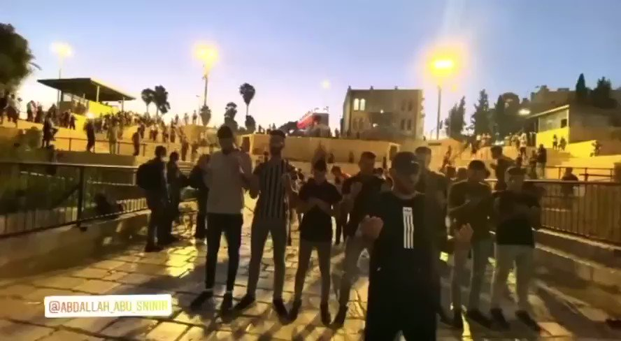 The moment that the israeli occupation army attacked young men while they were praying, I didn't see the young men doing anything to provoke them. They only pray and this is the right of anyone!! #Israel #Palestine #IsraeliCrimes https://t.co/7ssyiAKrVq