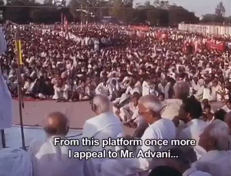 Never forget Lalu ji's decision to stop rath yatra & arrest advani. This move have saved bihar from possible riots & loss of lives/livelihood of the marginalized communities. This move of his I will always admire him for. #HappyBirthdayLaluji https://t.co/8DHTroRPfT