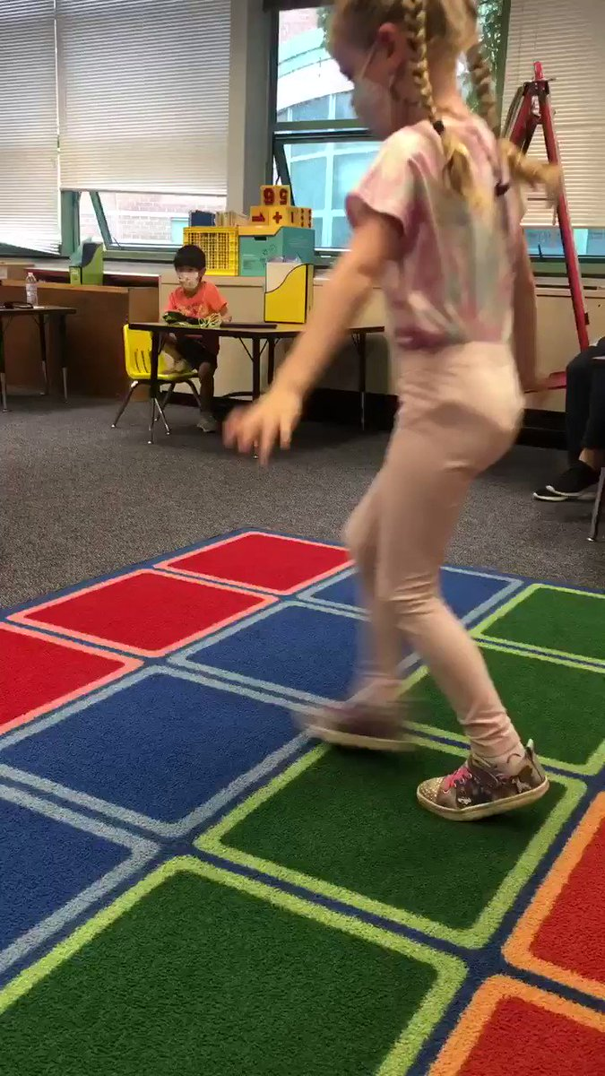 """After our lesson got moved indoors, we put on some rain music to listen to while painting. """"Oh! I can dance to that!"""" <a target='_blank' href='http://twitter.com/CampbellAPS'>@CampbellAPS</a> <a target='_blank' href='http://search.twitter.com/search?q=whywalkwhenyoucandance'><a target='_blank' href='https://twitter.com/hashtag/whywalkwhenyoucandance?src=hash'>#whywalkwhenyoucandance</a></a> <a target='_blank' href='https://t.co/TRZtuxkJA8'>https://t.co/TRZtuxkJA8</a>"""