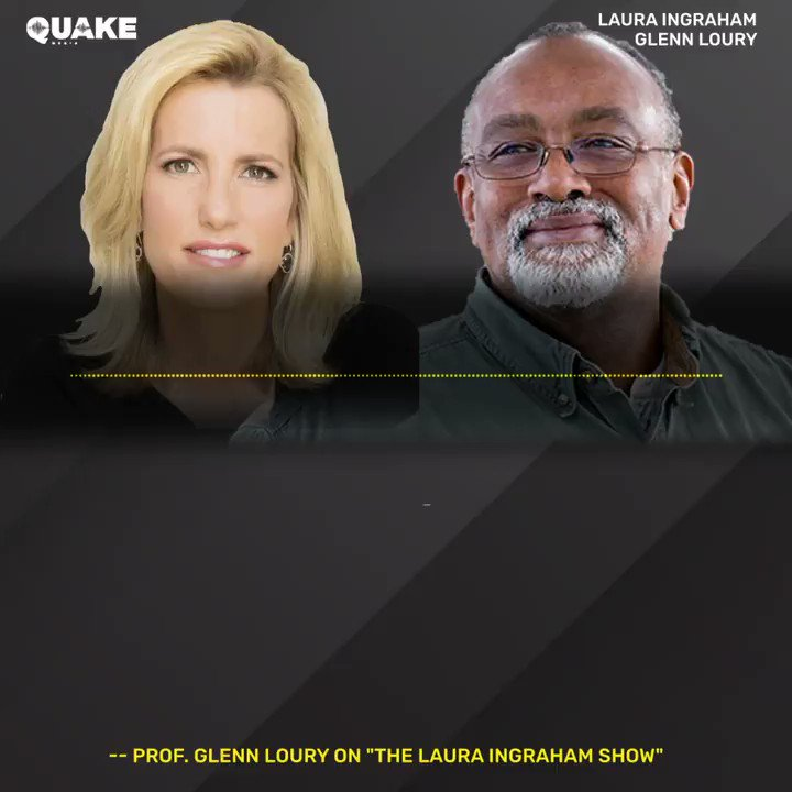 """""""[Critical race theory] is really not about logic, fact, reason, argument. This is about religion, the affirmation of a certain point of view."""" -- Prof. @GlennLoury on today's NEW episode of The Laura Ingraham Show. Subscribe to @QuakeMedia to listen: https://t.co/d7bzEE7rrX https://t.co/ggrL1HUhEE"""