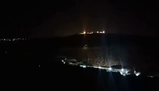 """Night Confusion Unit In Beita, the unit goes out every night to confuse the settlers and deliver a clear message: """"You will not be congratulated in our land, and you will not taste a good sleep"""" #انقذوا_جبل_صبيح #انقذوا_حي_الشيخ_جراح #فلسطين #FreePalestine #Jerusalem #Palestine https://t.co/zZgQ3zVpHh"""