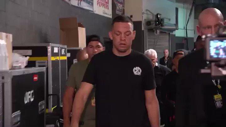 Diaz has arrived!!! #UFC263 https://t.co/RxasYp0w1y