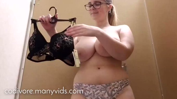 Thank you for buying! Dressing Room Bras and Finger Fuck https://t.co/LlXt4sCRUM #MVSales https://t.