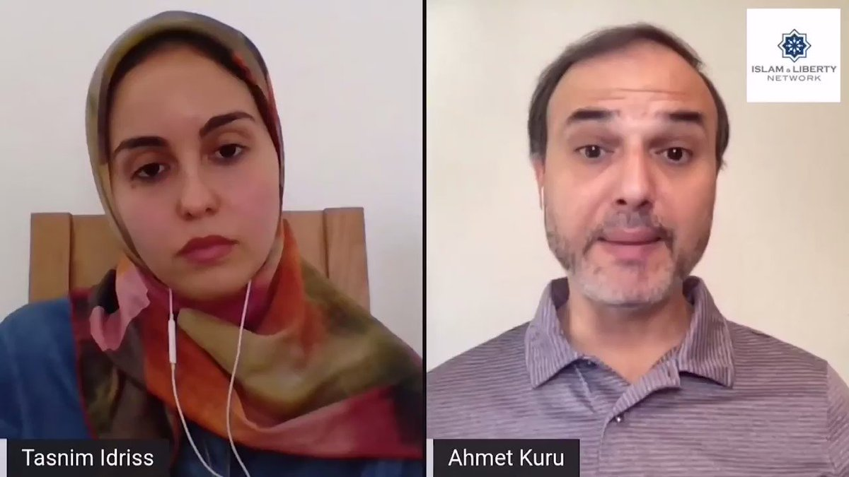My @LibertyIslam interview w @TasnimIdriss of Tunisia. We discuss issues in my Islam book incl. sharia & democracy, Islamophobia, colonialism, philosophers during Muslim's golden age & the ulema-state alliance from the 11th century to present. Full video: https://t.co/0tYXXxBgtz https://t.co/ZPVAzRXFe9