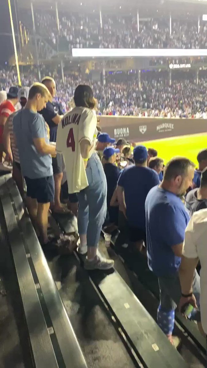 How sweep is this video? 🧹 #CubTogether https://t.co/dVCq3F7Rfa