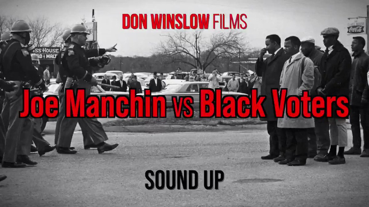 BRUTALLY HONEST  Wait for it…  #JoeManchinVsBlackVoters  New from @donwinslow 🔥   https://t.co/ivjzBpBnwp