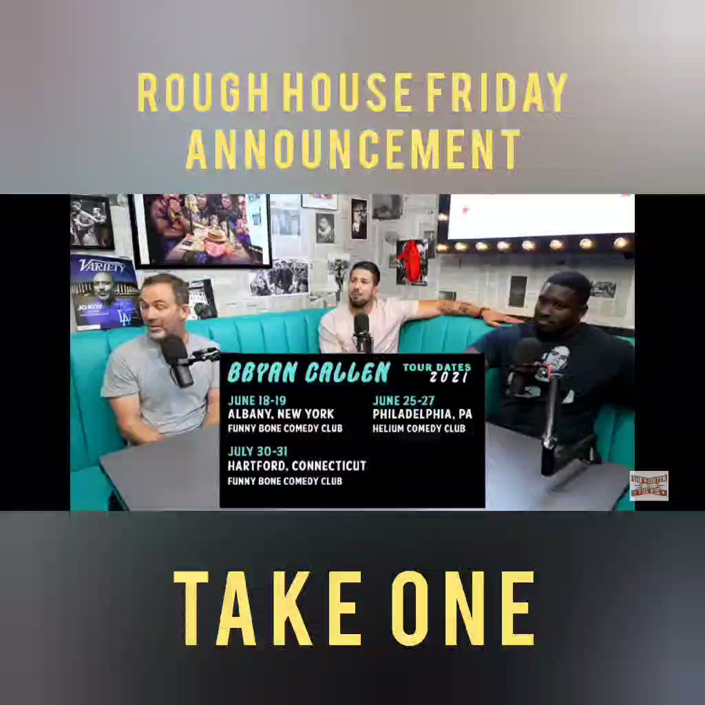 Find and subscribe NOW wherever you listen to podcasts.  All 5 star reviews will be shouted out on episode one so go ahead and rate the theme!  Follow @roughhousefriday on IG/FB and @roughhousepod on Twitter  #podcast #podcasts #newpodcast #mma #boxing #fights #bryancallen #bets https://t.co/LZKeKhws9b