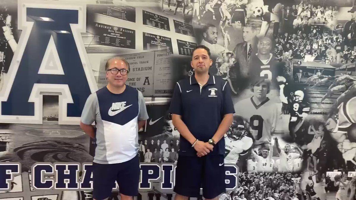 You're only as good as the people around you!   Longtime assistant Coaches Tony Gonzalez and @CoachGabeAHS share their thoughts on the amazing Boys Basketball 🏀 run, that's still going! #Community #Team #FalconPride  #SchoolOfChampions https://t.co/7hou2htySK