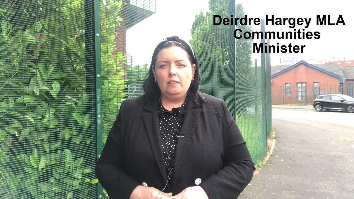 Image for the Tweet beginning: 🎥@CommunitiesNI Minister @DeirdreHargey on her