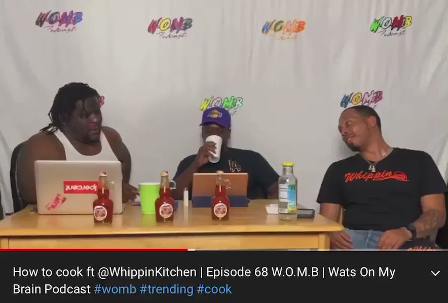 How to cook ft @WhippinKitchen | Episode 68 W.O.M.B | Wats On My Brain Podcast #womb #trending #cook https://t.co/avpNnUMGxM 👈🏿👈🏿 CLICK THE LINK ‼️‼️ #watsonmybrain #watsonmybrainpodcast #explorepage #chef #cooking #comedy #ad  #podcast #watch #mustsee @Acatlast @ComedianWatts https://t.co/FOazwIGZbS