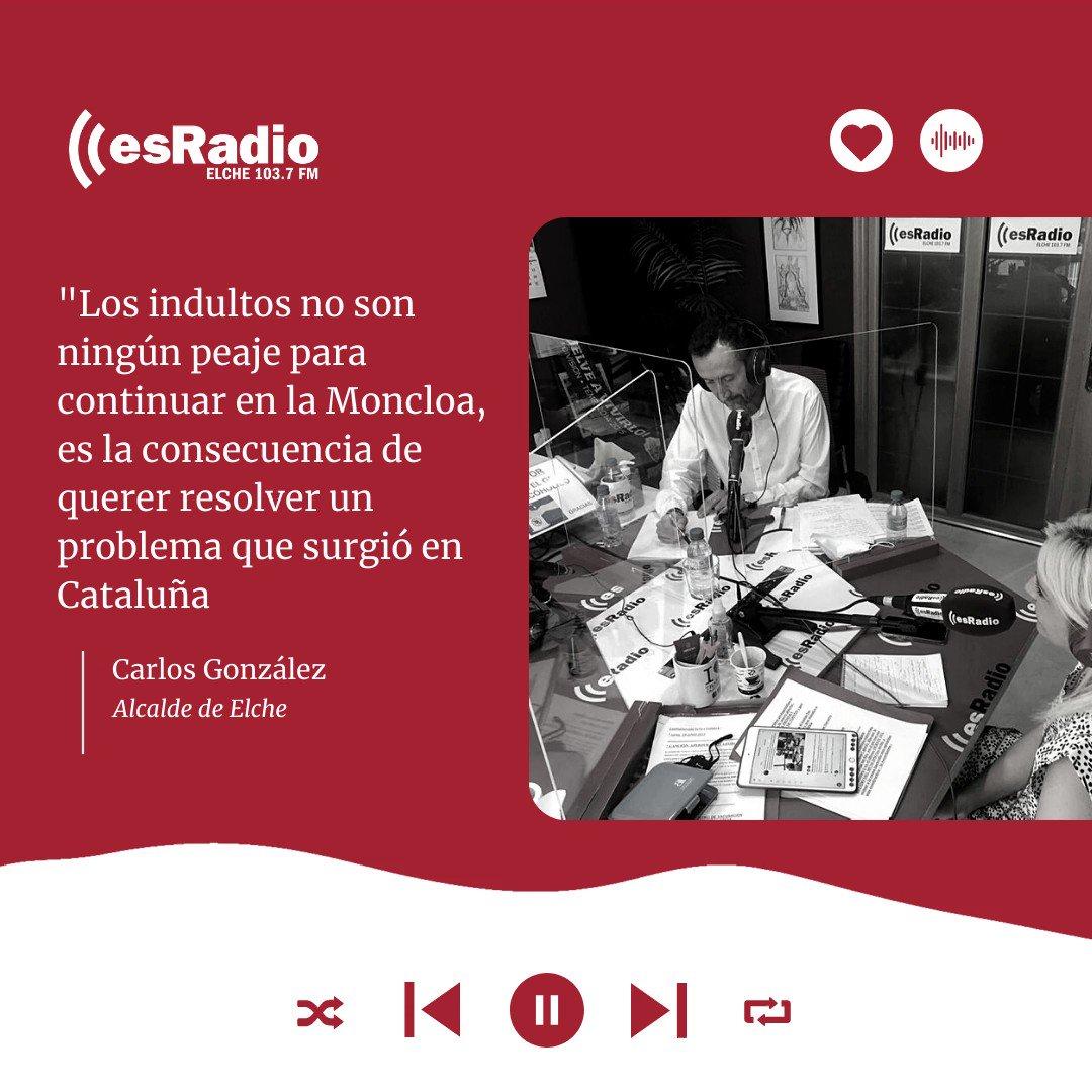 Image for the Tweet beginning: #ENTREVISTA 💬 @CarlosGlez2021 @AlcaldeDeElche👉 sobre