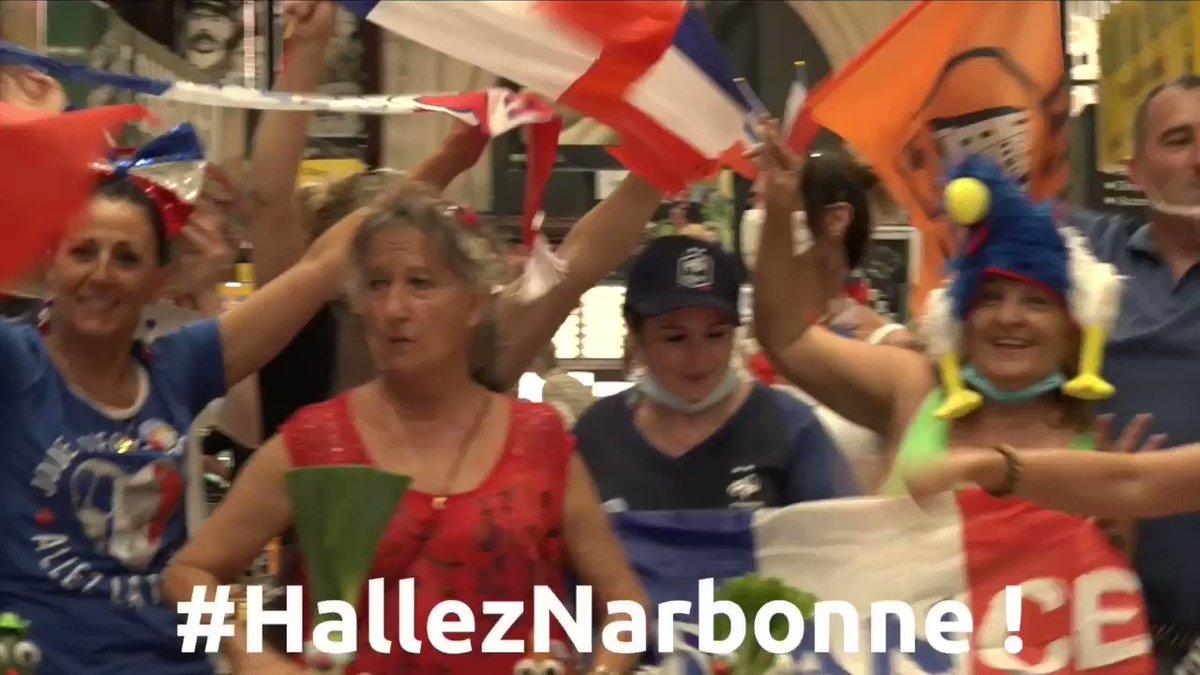 RT @villedenarbonne: Et pendant ce temps, aux Halles de #Narbonne...  👉VOTEZ:...