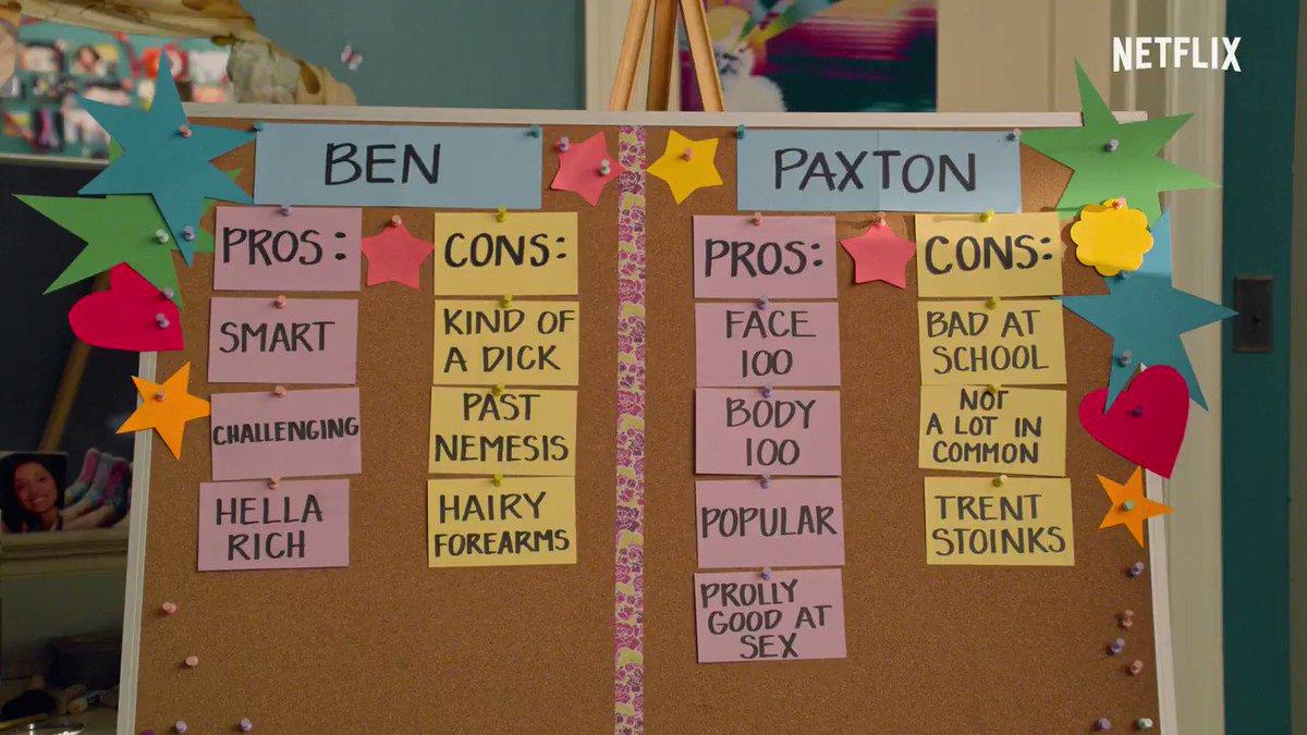 Escolher entre Paxton e Ben? Agora ela quer namorar os dois ao mesmo tempo. 👀  A 2ª temporada de Eu Nunca... estreia dia 15 de julho. https://t.co/ExP4vbQXRl