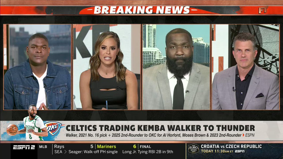 @KendrickPerkins's photo on Kemba