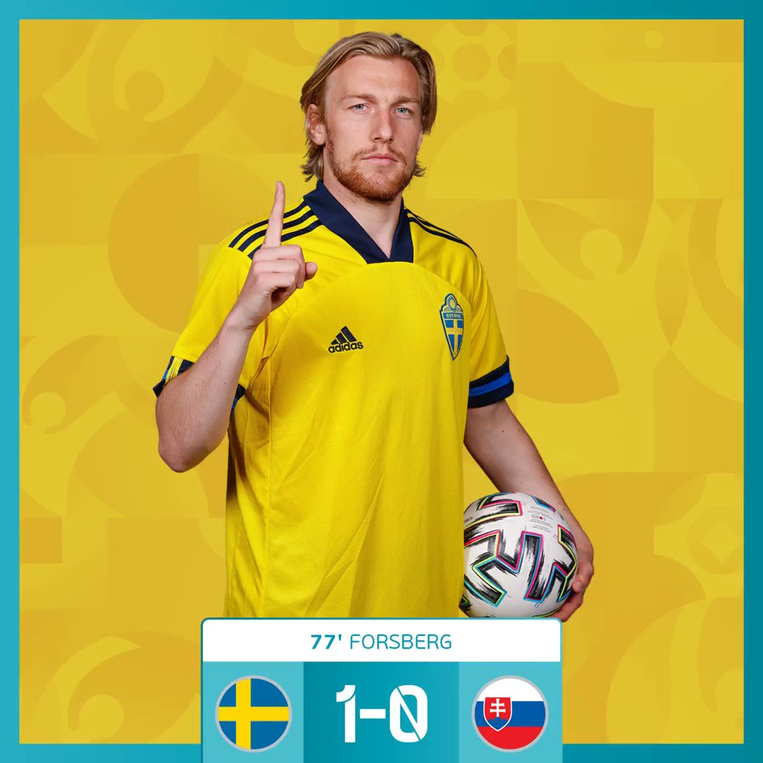 @EURO2020's photo on Forsberg