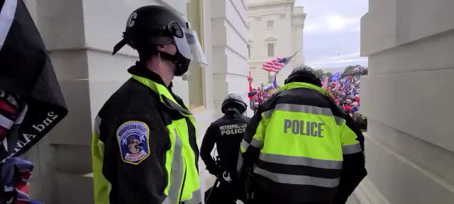Another newly released video shows Fairlamb's assault on a police officer from a different angle. https://t.co/lWiYH2ZmEe