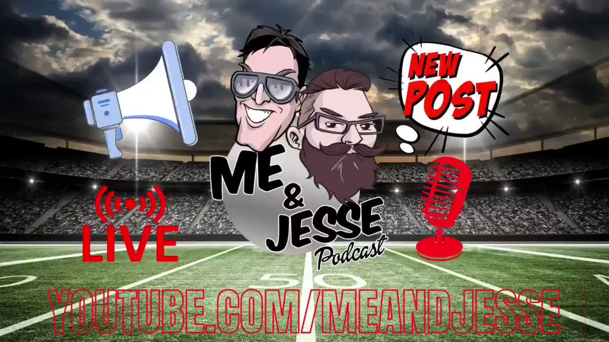 The #MeAndJesse Sports Podcast, with @MarkPavelich & @JesseMartineau. Buckle in, an hour of rants are coming to break the neck of anything ordinary. With guests from the #NFL, #UFC, #NHL, #Boxing & more. Tune in Mondays 5:00 PM MT 🎥https://t.co/HREHeVc0UD 🎙#SportsTalk365 https://t.co/UJRIR0EJkY