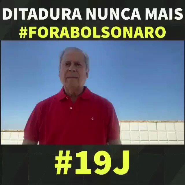 """""""Luta e combate! A geração de 68 está presente por Fora Bolsonaro"""", diz José Dirceu.  #josédirceu #ForaBolsonaro #DitaduraNuncaMais #Bradil #DesgovernoGenocida https://t.co/rqpQxAPLvW"""