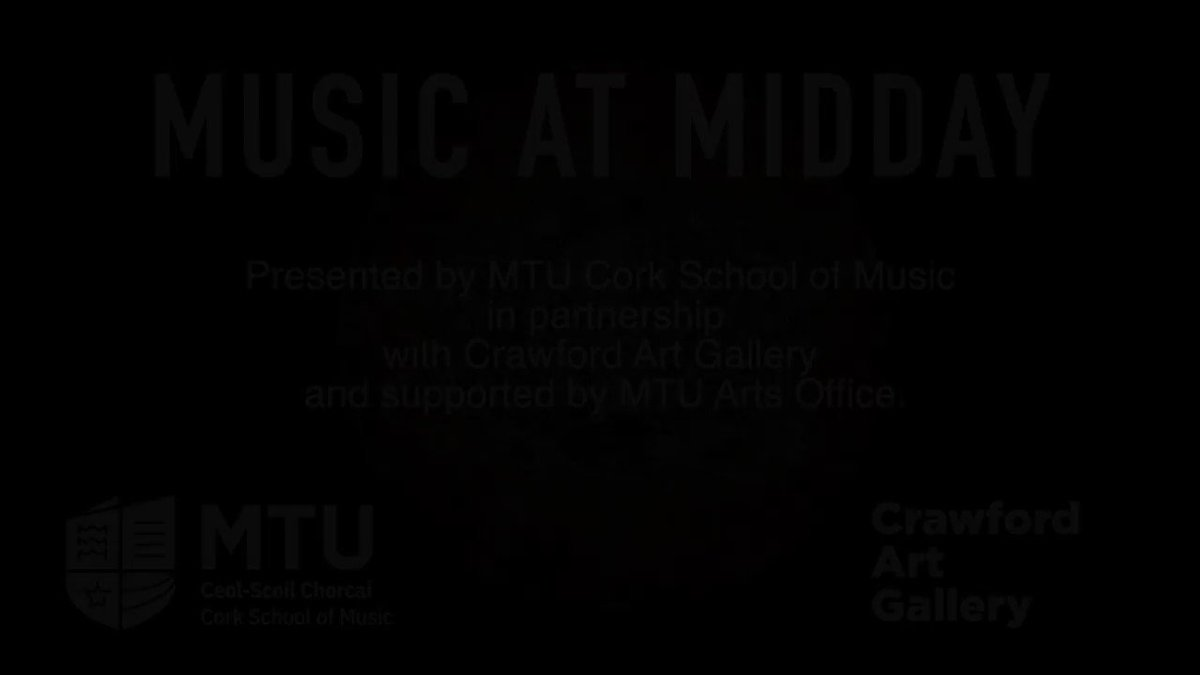 """Another little teaser ahead of MUSIC AT MIDDAY in partnership with @mtu_csm!  Macdara Ó Faoláin and Victoria Pierce will go live on bouzouki and guitar tomorrow at 12 noon with a performance of """"An Clamhán Bán"""" (The White Buzzard) and other compositions. #CrawfordMenagerie https://t.co/fYaWEADfce"""