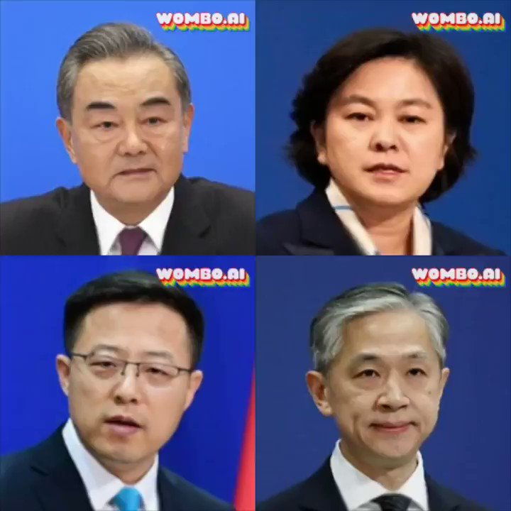 "#China's MFA team on a #karaoke binge. Let's face it, we all know how amazing a karaoke classic is Gloria Gaynor's ""I Will Survive"".  Featuring #WangYi, #HuaChunying, #ZhaoLijian, and #WangWenbin.  Hua Chunying does it rather well, actually! https://t.co/qkikAKtFjN"