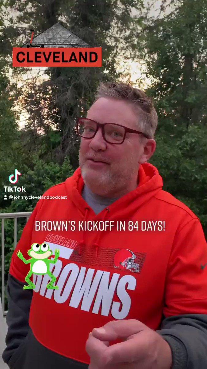 84 Days till Brown's Kickoff! Let's go! @PaulBrown_UK @ArmchairQBDan @dawgpounddaily @ShafUnlimited @ShkBkMediaGrp @CLEsportsTalk @MikeKilli @egoldie80 @JRCherry3 @ClevelandBrowns https://t.co/I37SLdOHEr