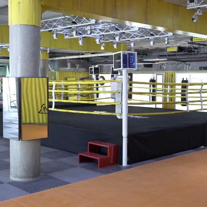 Image for the Tweet beginning: Boxing Área. Espacio donde se desarrollan