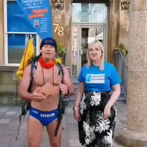 Love this charity, Scottish Families do a fantastic job. The Speedomick Foundation more than happy to help 3K gifted.   Speedomick2000milegivingbacktour Oooooshhhhh 💙💙👣👣  The Giving Back Tour: https://t.co/v85En2ni6Q    Speedo Mick Foundation: https://t.co/wadrbXiceM https://t.co/Cb1K0l3jcS