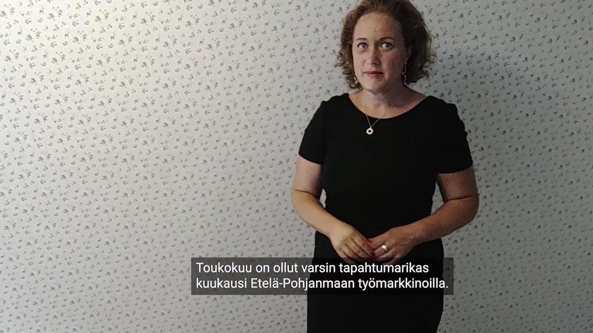 Työttömiä oli toukokuussa Etelä-Pohjanmaalla koko Suomen vähiten suhteessa työvoimaan.