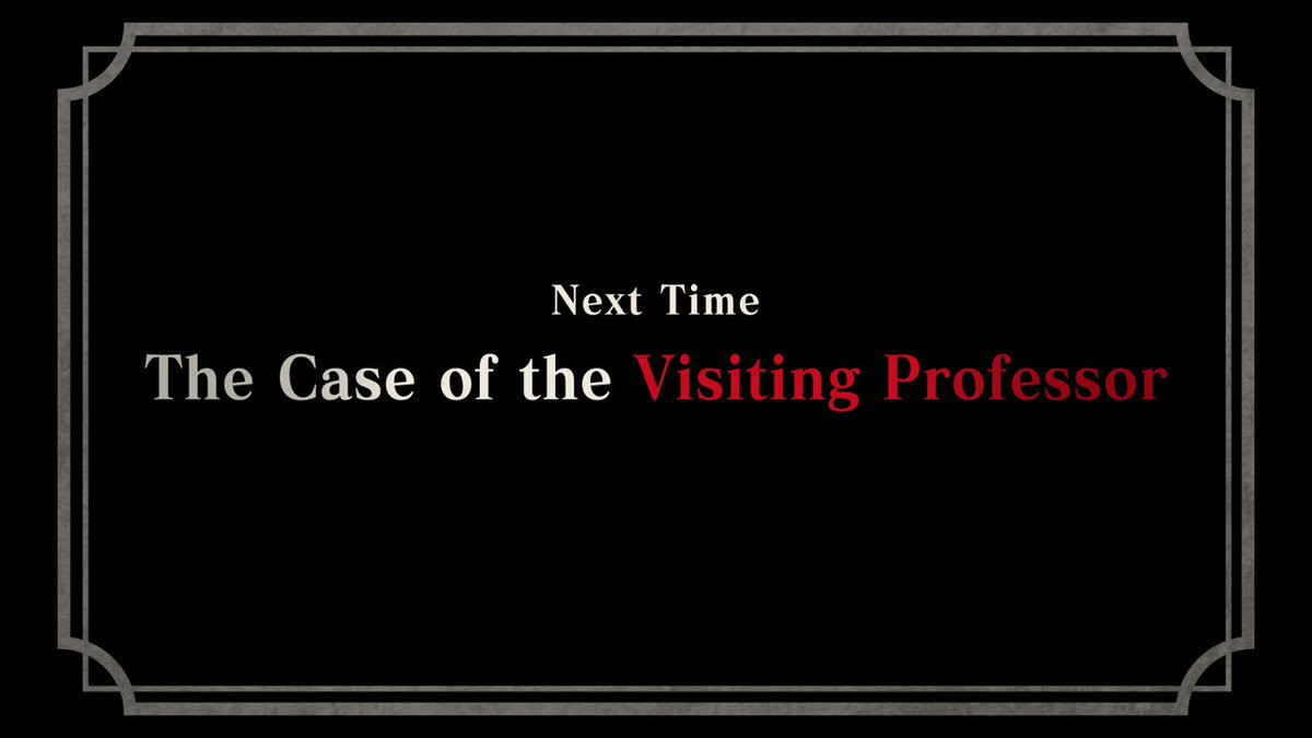 It's Ryunosuke's first day in court! But... this isn't how it's supposed to go, is it?  Check out the first #TheGreatAceAttorney Chronicles case preview: The Case of the Visiting Professor!  👉 https://t.co/iyom9b2KaV https://t.co/oRQoBSiDNf