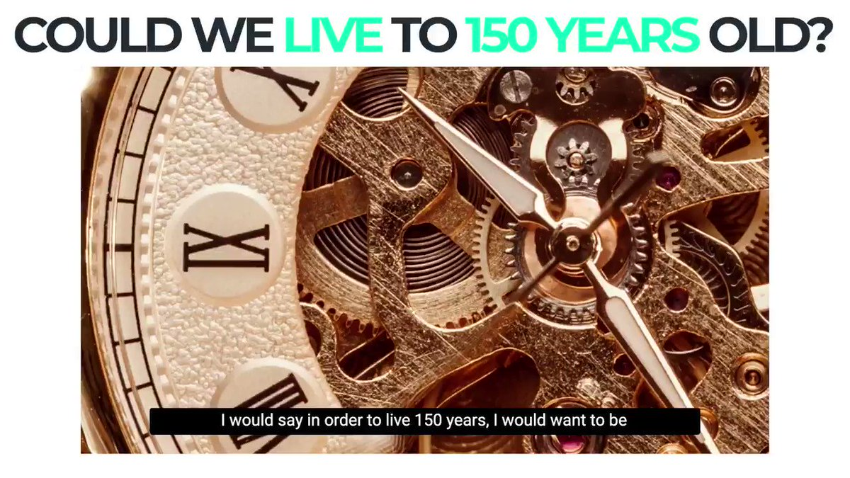 Dr Joe on whether we could live to 150 years old; a clip from our May Dr Joe Live conversation. Click https://t.co/FpnpFey9zp to learn more & register to join Dr Joe & the rest of the community for this month's class, which will be on Thursday June 24th 12:00pm(PST) //3:00PM(EST) https://t.co/WOR0gMswm9
