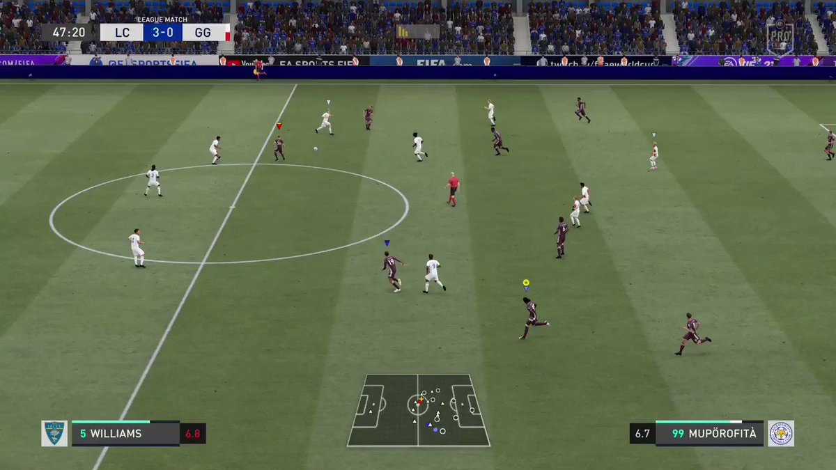 In that Marcelo bag again  #PS5Share, #FIFA21 #ProClubs https://t.co/1GpSd2FLHl