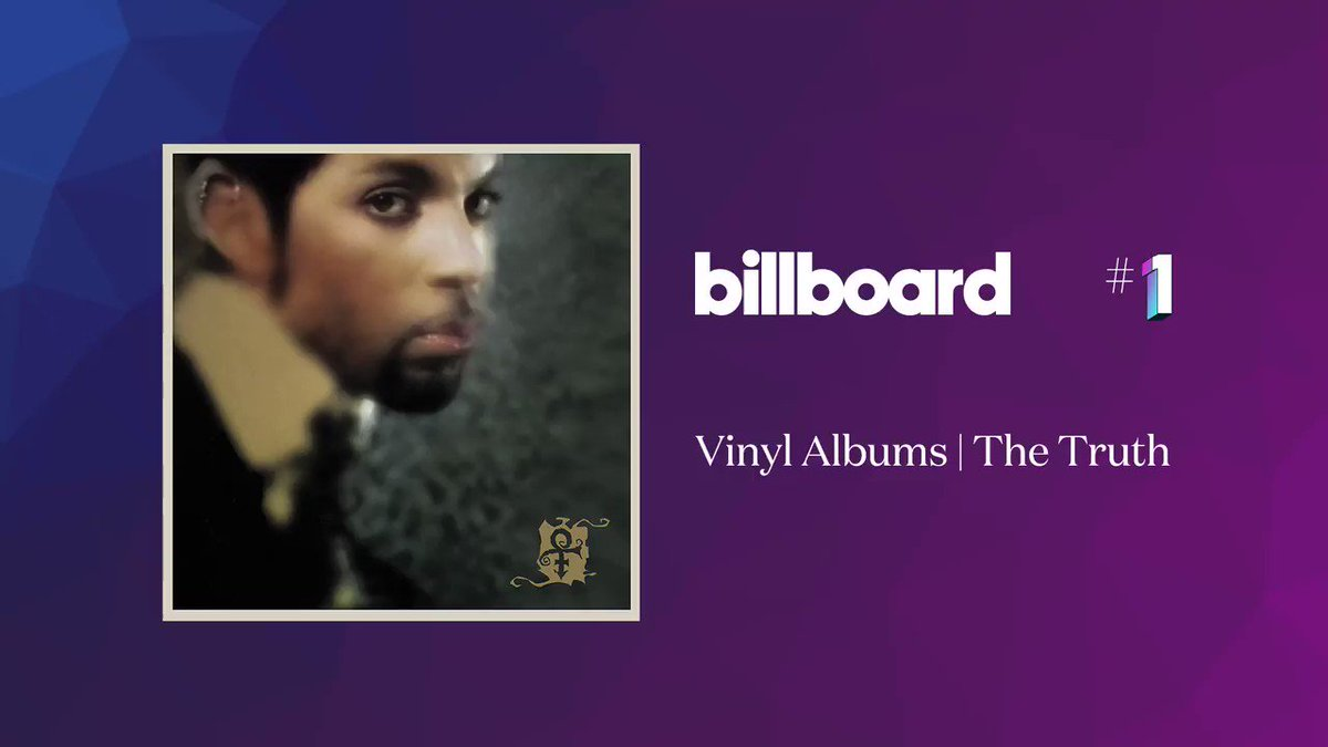 The special RSD Drop of Prince's album The Truth debuted at No. 1 on the @Billboard Vinyl Albums chart this week. Thank you to the fans (and fams) who celebrated @RecordStoreDay and picked up this exclusive release!  @sonymusic https://t.co/gtBvjtwD3U