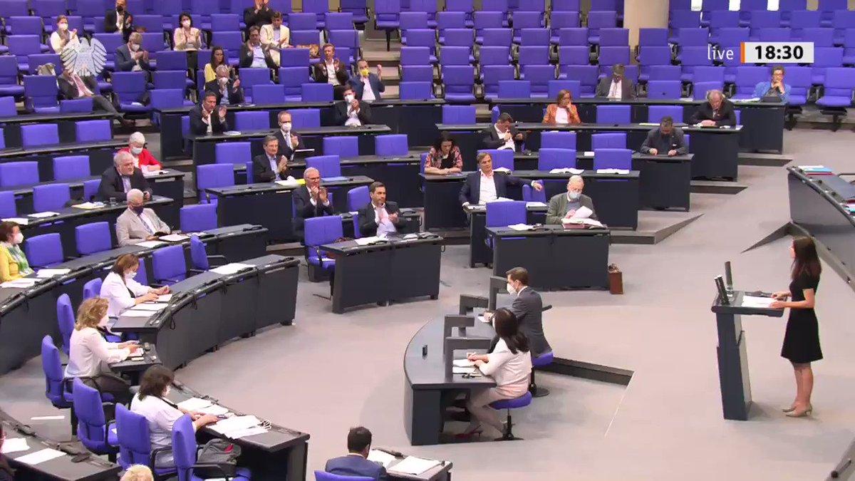 Image for the Tweet beginning: Ich habe im #Bundestag meine