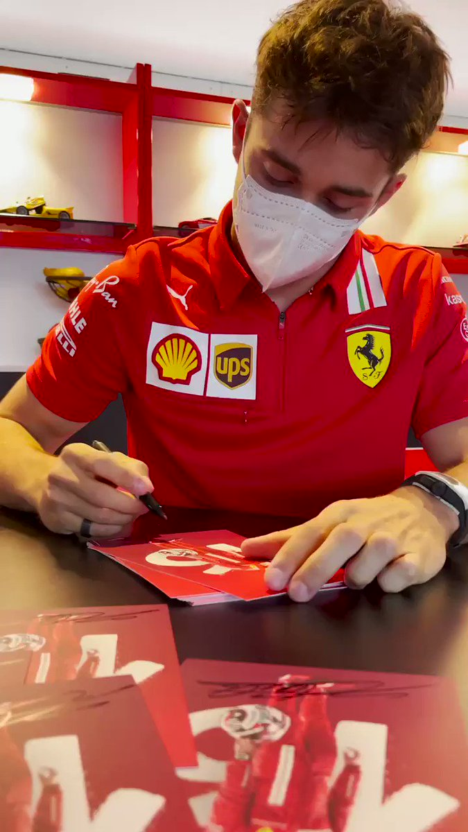 Image for the Tweet beginning: Morning delivery for the Tifosi
