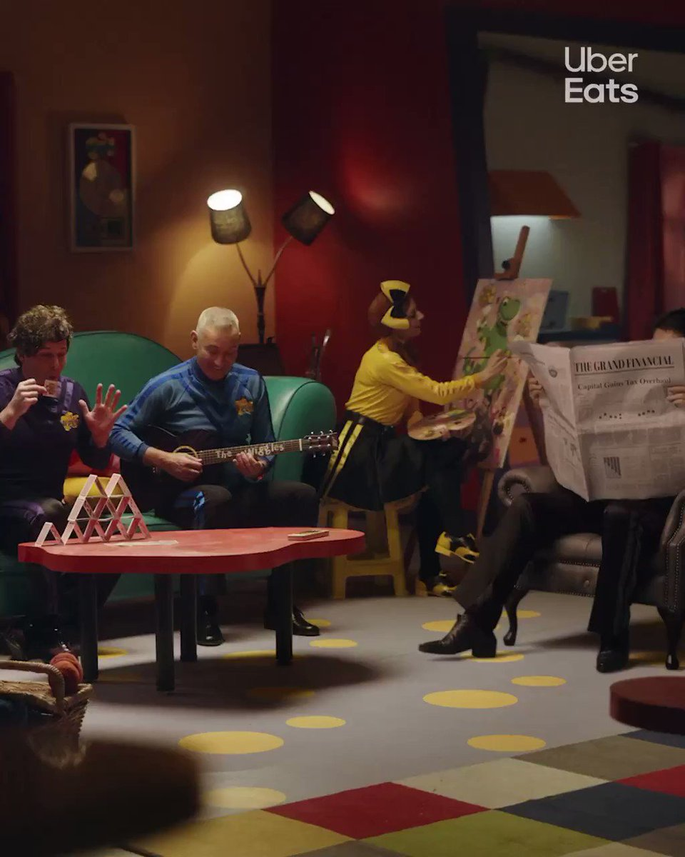 It's a no from me @TheWiggles  #TonightIllBeEating @UberEats @Uber_Australia https://t.co/KB0YfEBoWb