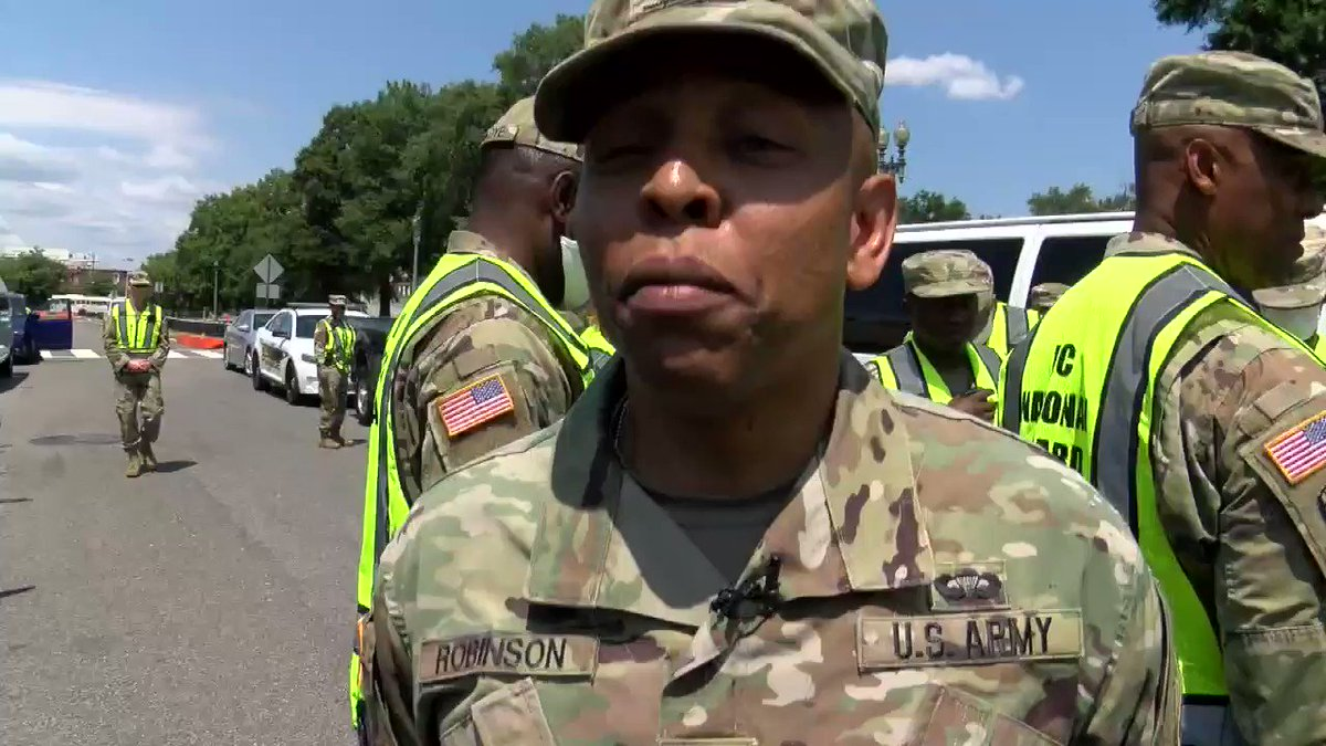 """What does the #fourthofjuly mean to you?  For U.S. Army Col. Moses Robinson, #independenceday """"represents our nation coming together as a unified country and pushing for the rights, privileges and protections that are offered under the Constitution.""""  #DCNGstrong #july4th https://t.co/RFviYJsUaz"""