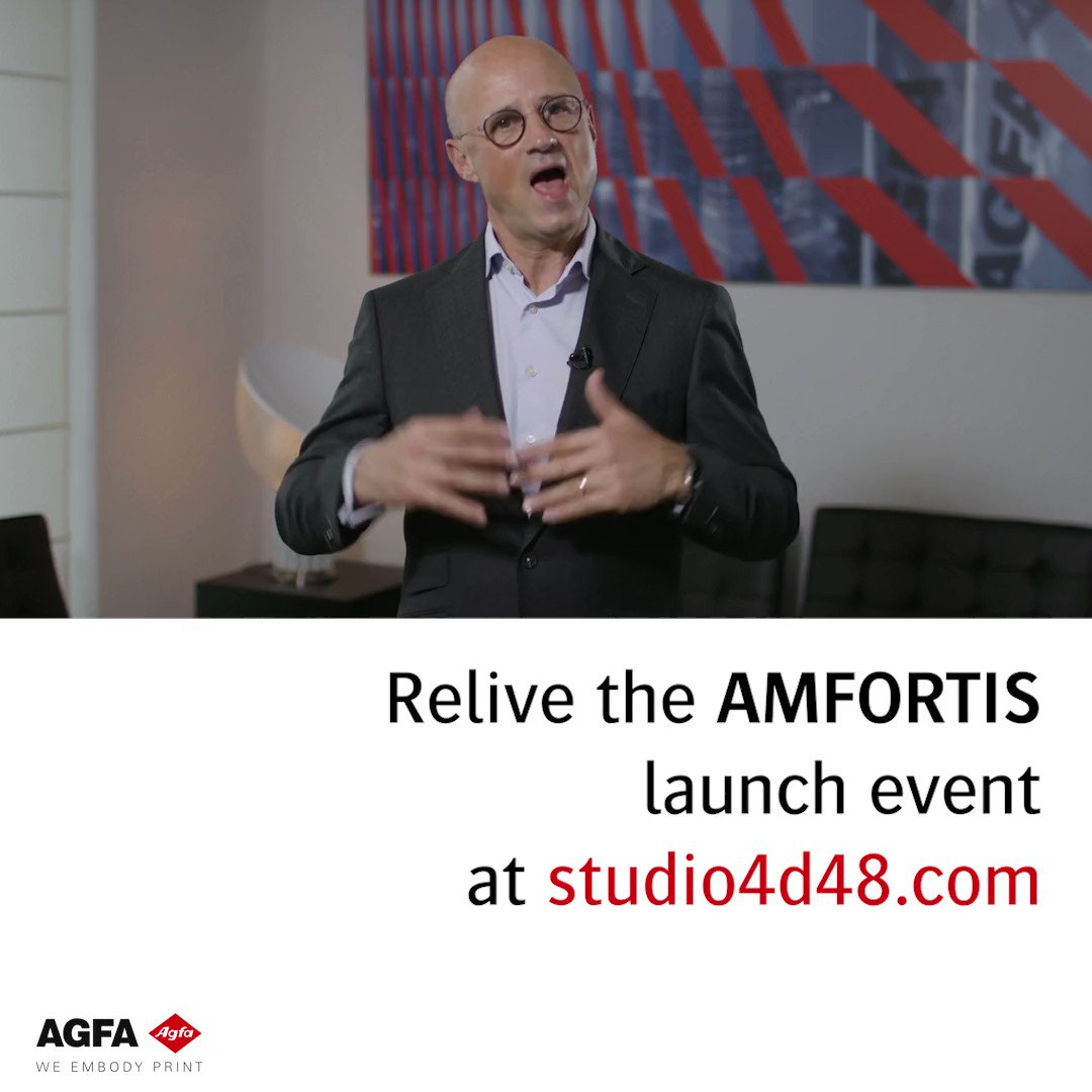 Image for the Tweet beginning: Relive the launch of Amfortis,