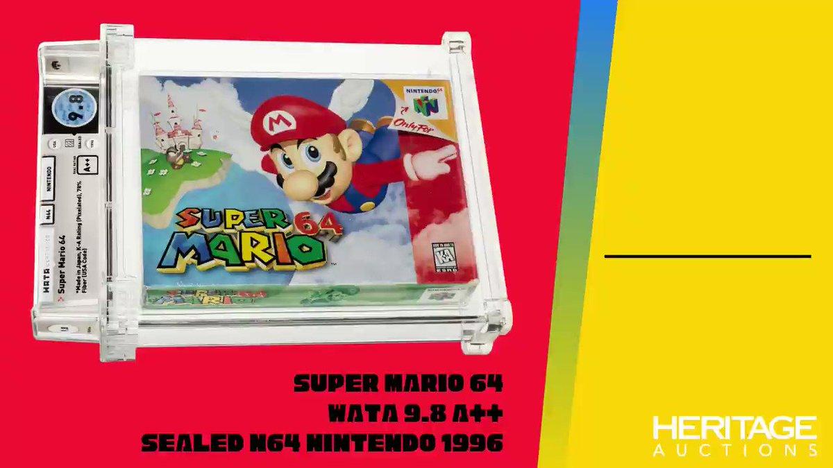 @HeritageAuction's photo on Super Mario 64