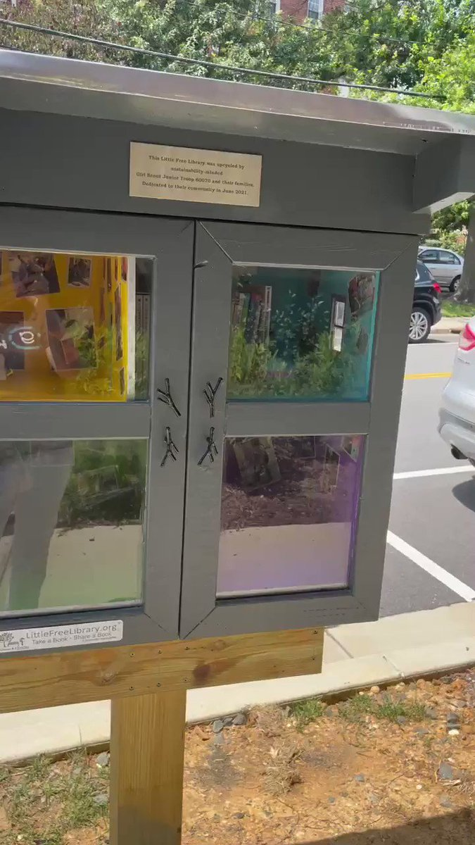 📣 Fleet Falcons…your Little Free Library is READY TO GO!!!! 📚📚Take a book. Leave a book.  <a target='_blank' href='http://twitter.com/APS_FleetES'>@APS_FleetES</a> <a target='_blank' href='http://twitter.com/APSFleetPTA'>@APSFleetPTA</a> <a target='_blank' href='http://twitter.com/APSLibrarians'>@APSLibrarians</a> <a target='_blank' href='http://twitter.com/Principal_Fleet'>@Principal_Fleet</a> <a target='_blank' href='http://twitter.com/Fleet_AP'>@Fleet_AP</a> <a target='_blank' href='https://t.co/ryevtm0Lr0'>https://t.co/ryevtm0Lr0</a>