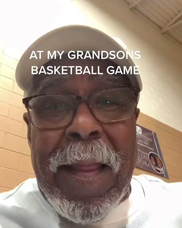 This grandpa at his grandson's basketball game is the best 🙌  (via everybody.lovesg/IG) https://t.co/aSQdL40HoF