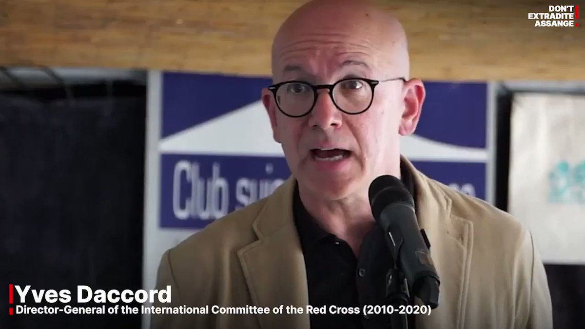 """""""We are here to tackle the inhuman treatment of Julian Assange, and also because it goes beyond Julian Assange.""""  Listen to @DaccordYves during Geneva call to #FreeAssange here https://t.co/GLI9xbfbVL #DropTheCharges #genevasummit2021 https://t.co/FL50dyMNuY"""