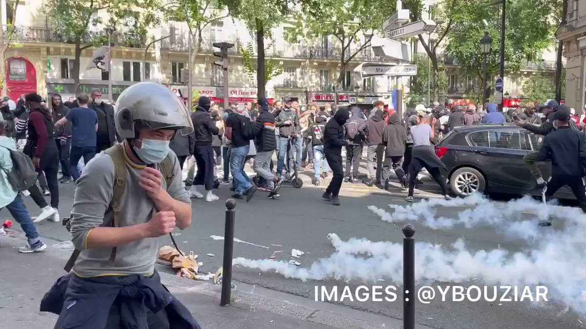 French Citizens Riot in Response to Plan to Mandate Vaccine Passports 49rtJYxdTYwZC2ge