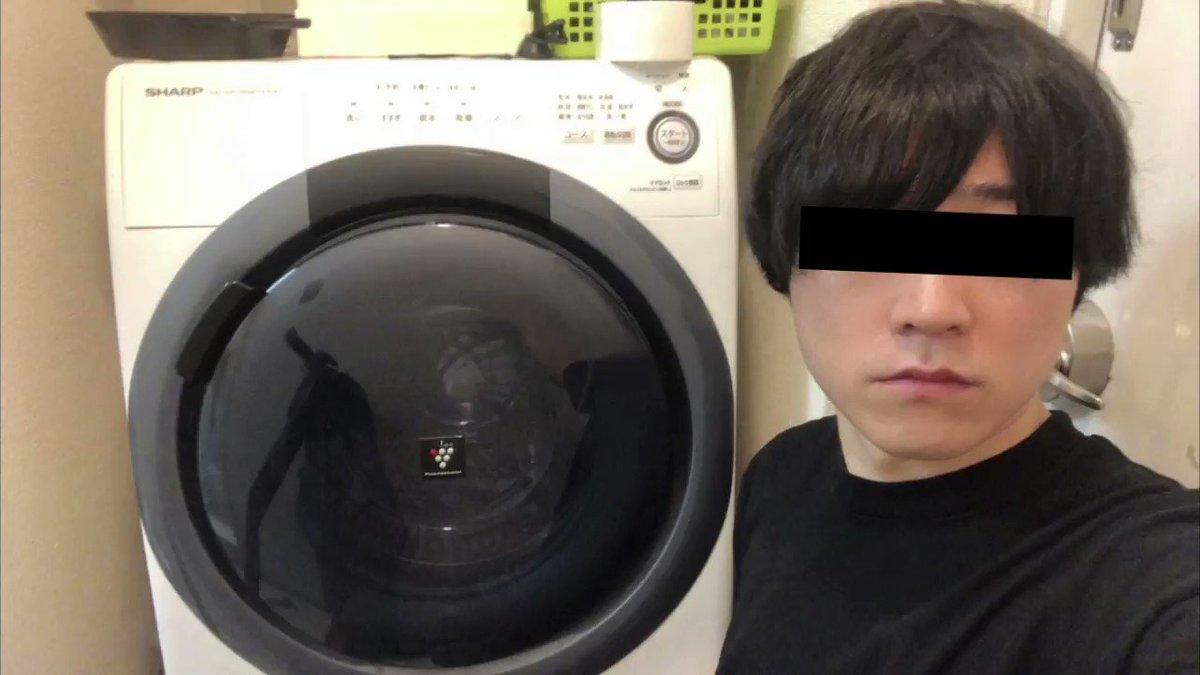 ドラム式洗濯機を使って撮影できる!無重力っぽい映像w