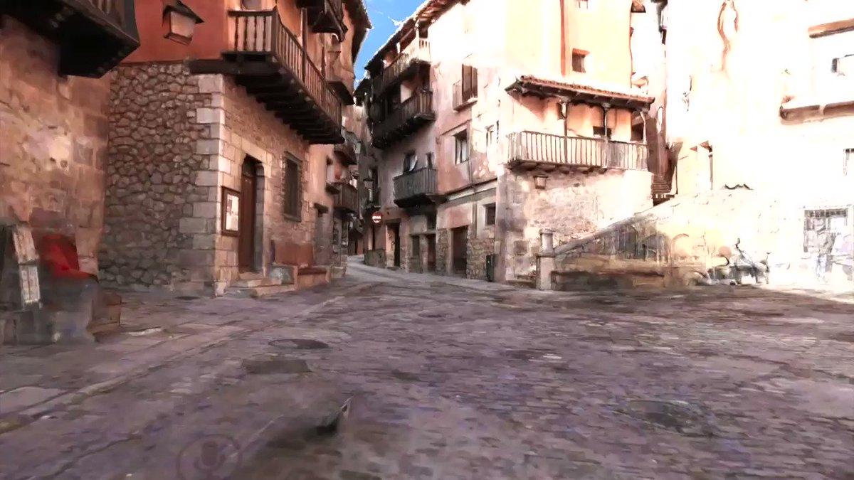 スペイン、14世紀の城壁が残る荒野の城塞都市アルバラシンを概ねまるごとVR化したワールドを作成しました。街の中の路地から周りの城壁まで歩けるようになっています。中世の街並み&城壁に興味がある方がいらっしゃいましたら、こちらのリンクからどうぞー vrchat.com/home/launch?wo… #VRChat_world紹介