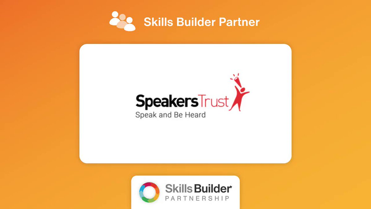 Thrilled to be a part of such an important partnership 🎉🎊  We cannot wait to start working together!!  #skillsbuilder #youthvoice