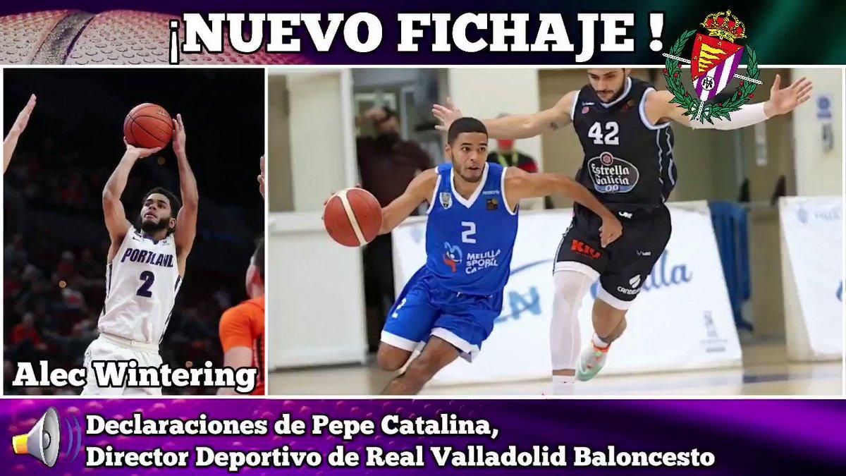 Image for the Tweet beginning: Alec Wintering nuevo jugador de