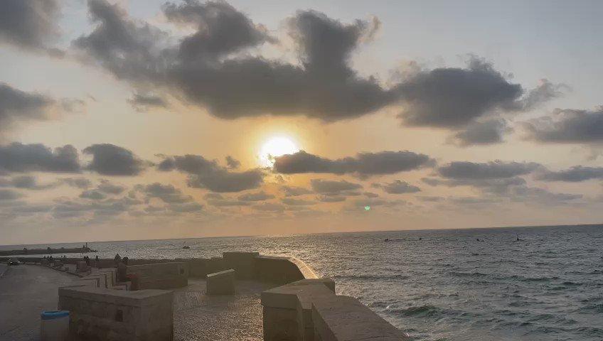 تكبيرات عيد الأضحى من مسجد البحر في مدينة يافا عروس البحر