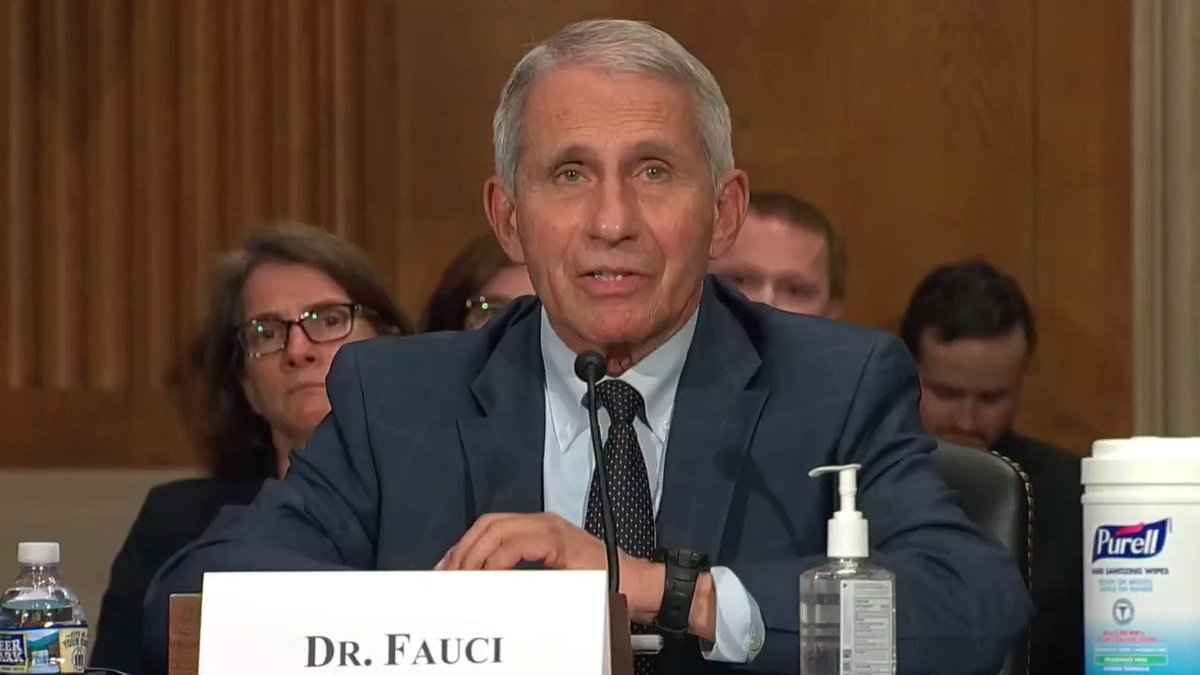 """Dr. Fauci to Rand Paul: """"Senator Paul, you do not know what you're talking about, quite frankly, and I want to say that officially. You do not know what you're talking about.""""   https://t.co/VmDJkbJYJB"""