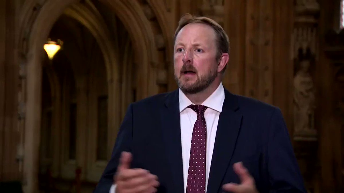 """Chesterfield MP @tobyperkinsmp says businesses in his constituency are """"struggling to cope"""" with the number of people isolating and wants to see a 'test and release' scheme similar to international travel to shorten isolation times. https://t.co/JZVHBdJ2Hq"""